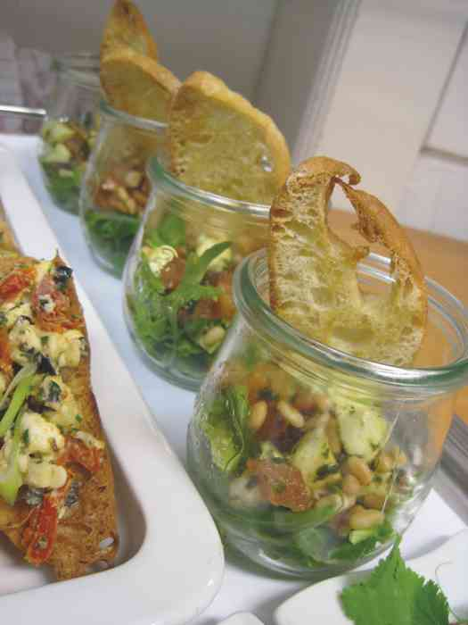 Fingerfood im Palais Esplanade.