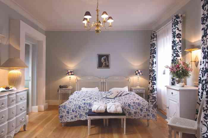 Luxuriös und individuell eingerichteten Zimmer im Palais Esplanade.