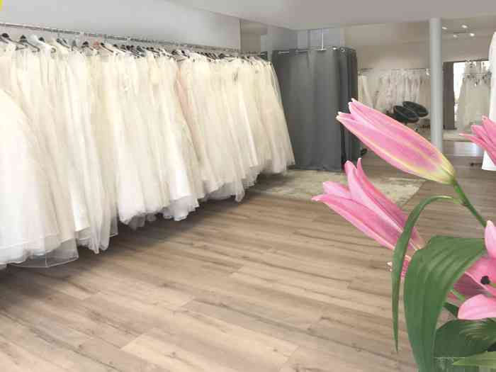 Showroom von Brautmoden Isabel