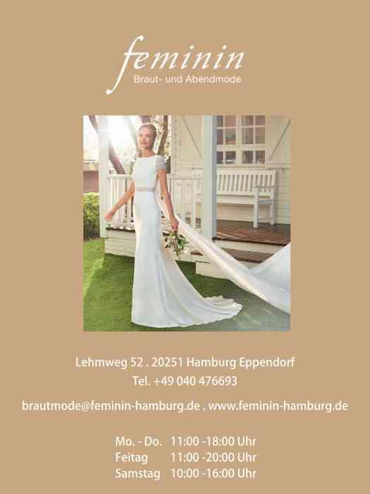 Feminin Braut-und Abendmode