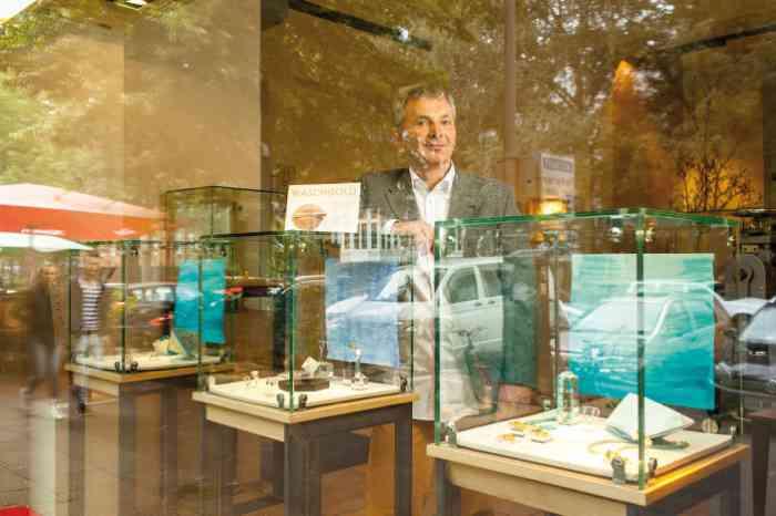 Showroom und Atelier von Thomas Becker