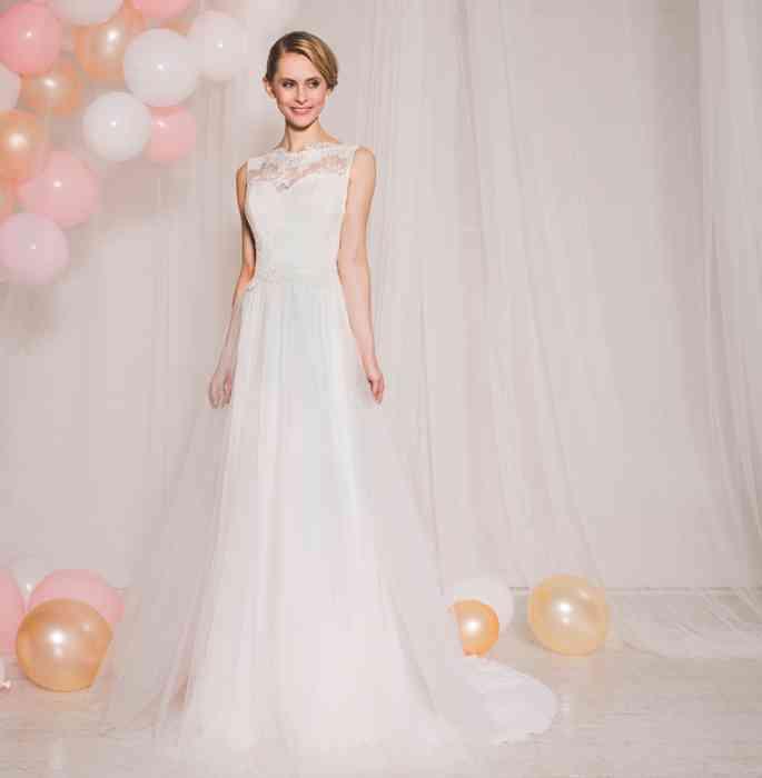 Modern-romantisches Prinzessinnen-Kleid Ana-Lena