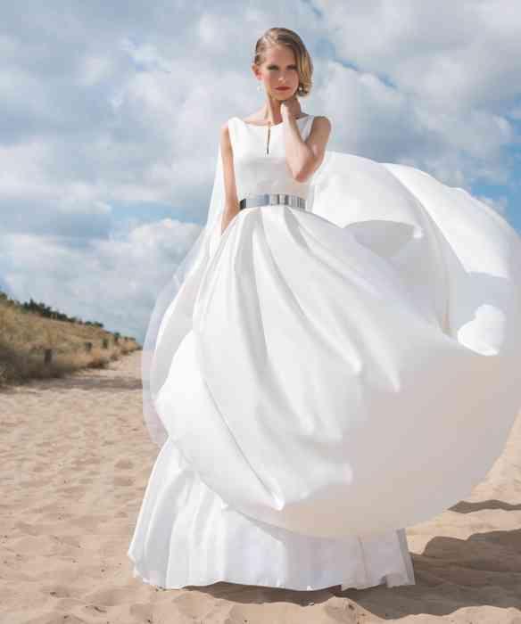 Brautkleid aus Seide Torrox Hamburg