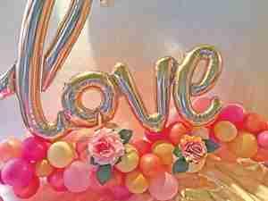 candy & balloon