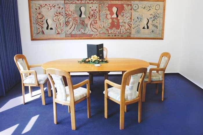 Trauraum im Standesamt Hamburg Wandsbek im Gebäude des Bezirksamtes