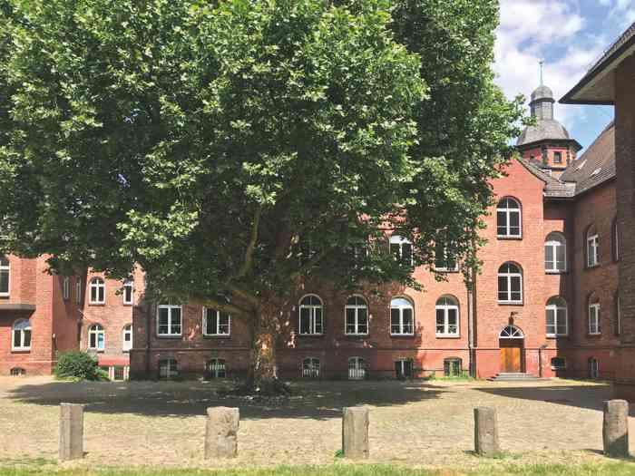 standesamt hamburg harburg eheschließung Rathaus empfang im Innenhof
