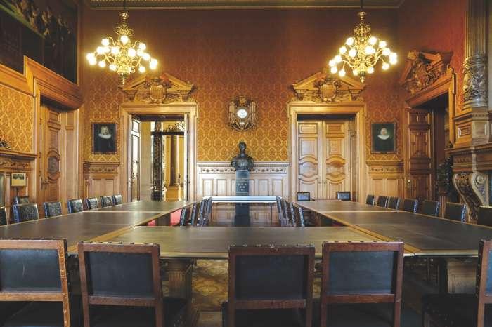 Das Trauzimmer im Hamburger Rathaus