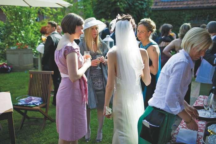 Hochzeitsfest im Freien