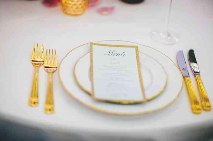 Auf der Hochzeitsmesse Hochzeitstage Hamburg in Halle B7 können sich Bräute über Tischdekorationen informieren.