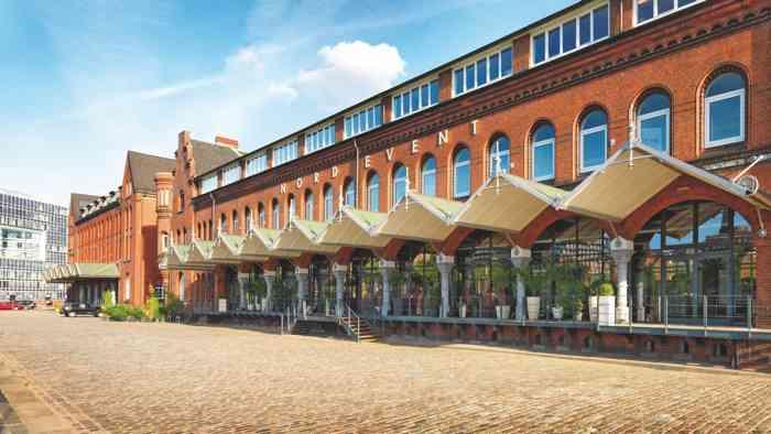 Außenaufnahme Ehemaliges Hauptzollamt in Hamburg in der Speicherstadt