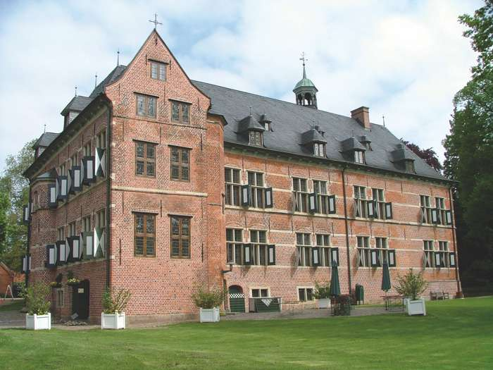 Außentraustelle im Renaissance Schloss Reinbek