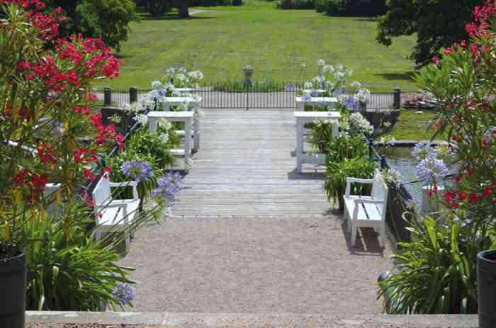 Garten des Schloss Eutin.