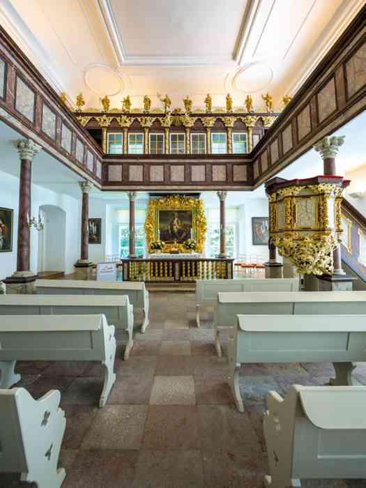 Die Hofkapelle des Schlosses Eutin