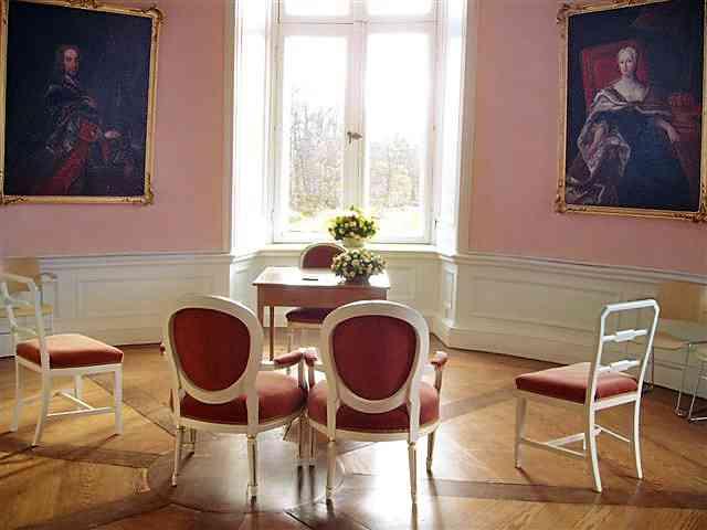Rundturmzimmer im Schloss Eutin.