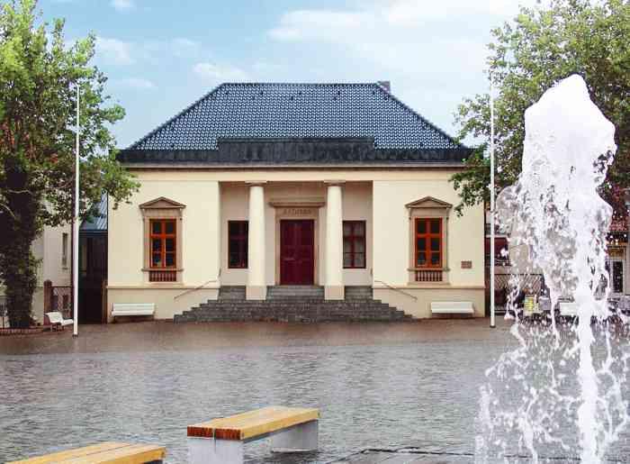 Standesamt Neustadt in Holstein im Rathaus Neustadt