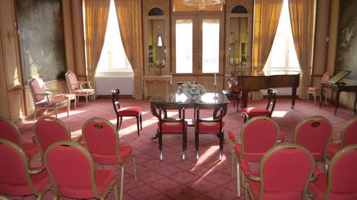 Trauraum Gartensaal des Standesamt Ahrensburg im Schloss Ahrensburg