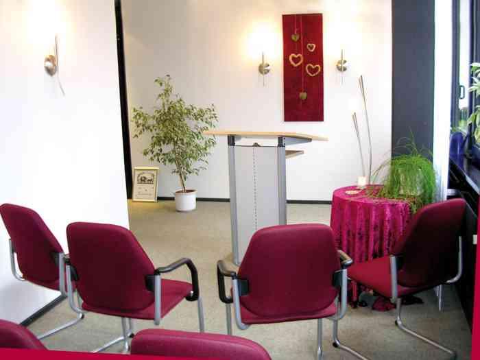 Trauzimmer im neuen Rathaus Standesamt Büdelsdorf