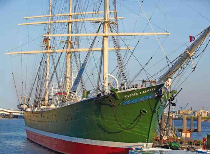 rickmer rickmers segelschiff hamburg hafen landungsbrücken hochzeit hochzeitslocation