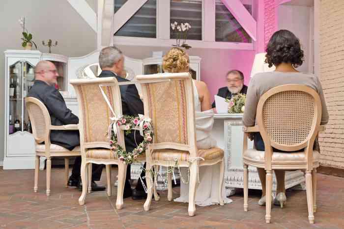 Hochzeitslocation Landsitz Hotel Peterhof Trauzeremonie