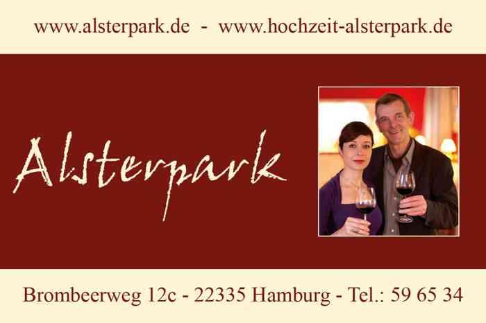Hamburg Hochzeit Restaurant Alsterpark Hochzeitsfeier