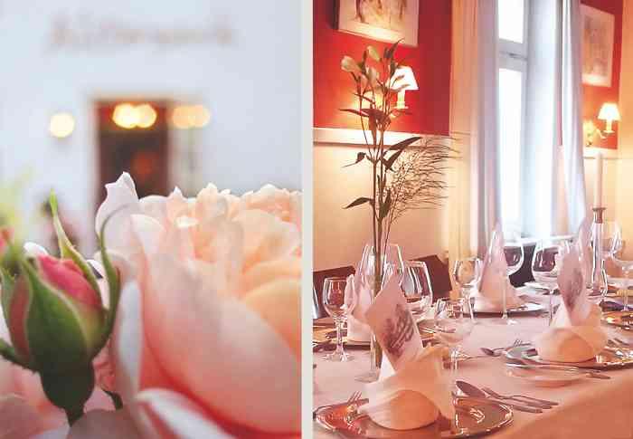 Nach der Trauzeremonie kann im Restaurant Alsterpark Hochzeit gefeiert werden.