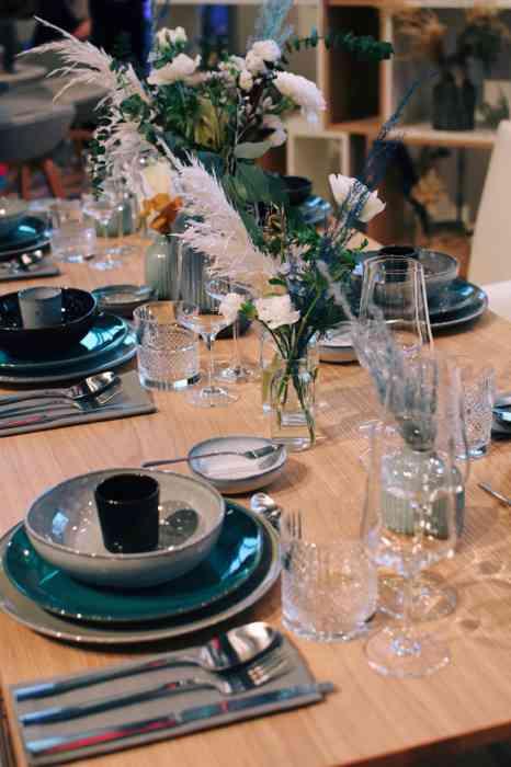 Hochzeitsmesse Herz an Herz Lübeck Tischdekoration