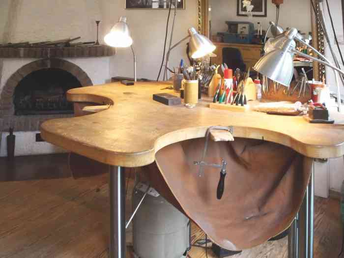Goldschmiede Suhk Atelier Werkzueg