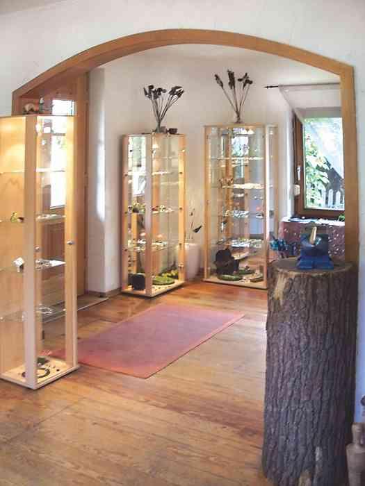 Showroom der Goldschmiede Kristina Suhk