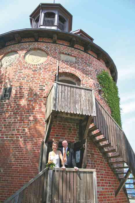 Schlossturm neben dem Standesamt Lauenburg-Elbe