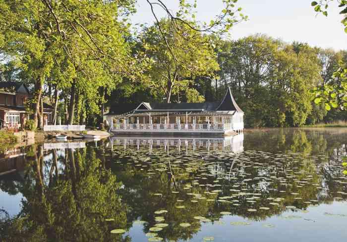 Hochzeitslocation Bokel-Mühle am See Blick über den See