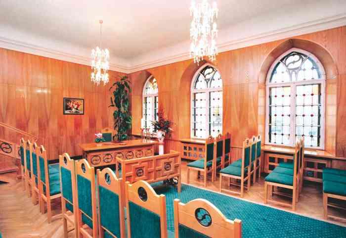Trausaal im Rathaus Waren (Müritz)