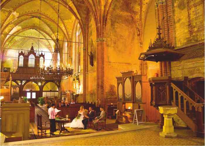 Trauung in der Klosterkirche Malchow
