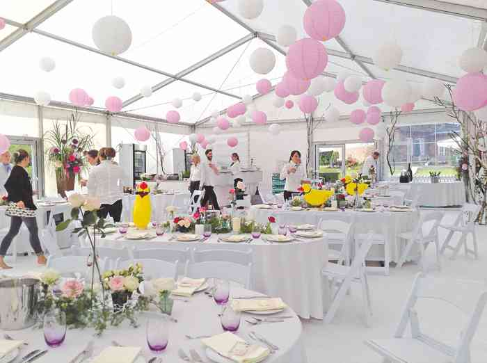 Hochzeit im Zelt von Eventmanagement Gabi Loewel