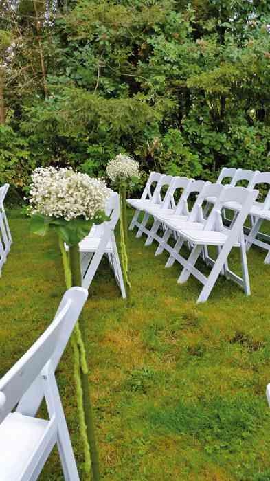 Trauzeremonie im Garten von Eventmanagement Gabi Loewel