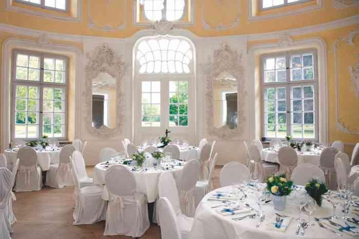 Tischdekoration im Prinzenhaus Plön von Eventmanagement Gabi Loewel