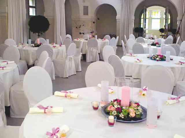 Tischdekoration von Eventmanagement Gabi Loewel