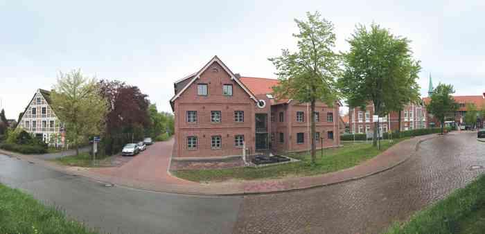 Standesamt und Umgebung der Gesamtgemeinde Lühe im Rathaus in Steinkirchen.