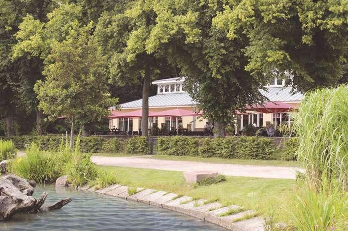 Das Restaurant Leuchtturm an der Außenmühle