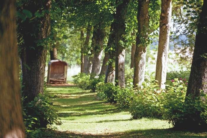 Hochzeitslocation Gut Bardenhagen Garten Niedersachsen