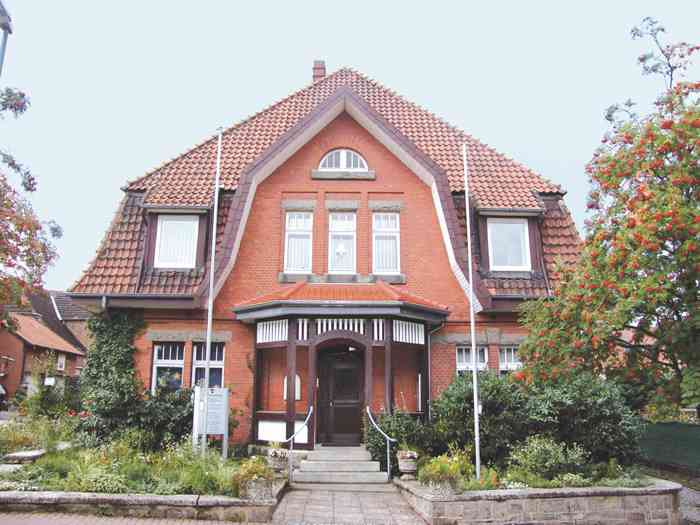 Das Standesamt Ronnenberg in der Region Hannover.