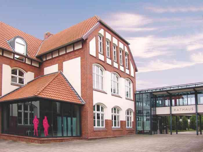 Das Standesamt Seelze in der Region Hannover im Rathaus der Stadt Seelze.