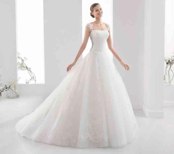 Braut Brautkleid Prinzessinnen Stil Spitze