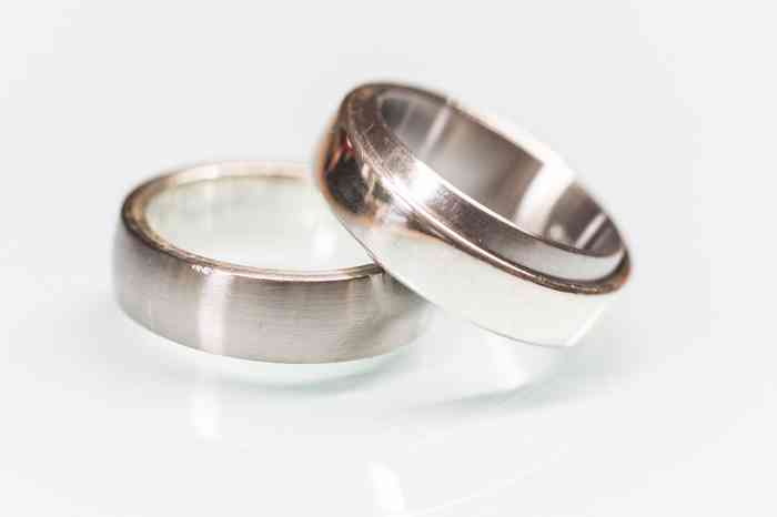 Ineinander gesteckte Ringe als Hingucker