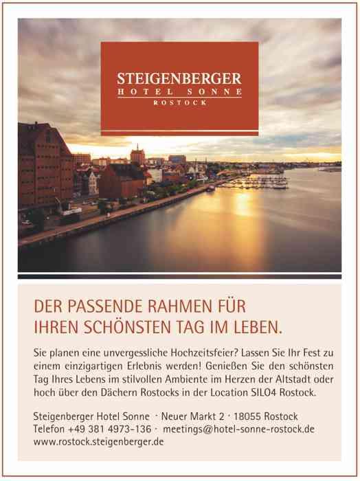 Plakat mit Foto von Hafenansicht Rostock: Steigenberger Hotel Sonne , Neuer Markt 2, 18055 Rostock, Telefon 0381-4973-136, meetings@hotel-sonne-rostock.de, www.rostock.steigenberger.de