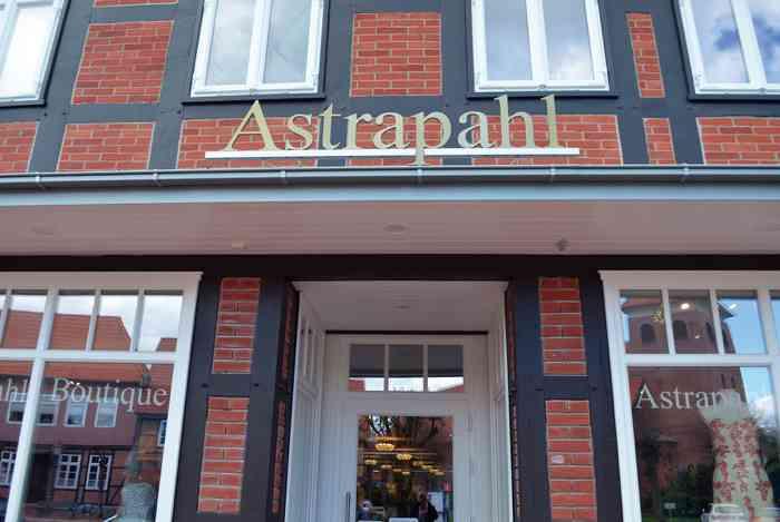 Astraphal Brautmode in Bleckede Aussenansicht