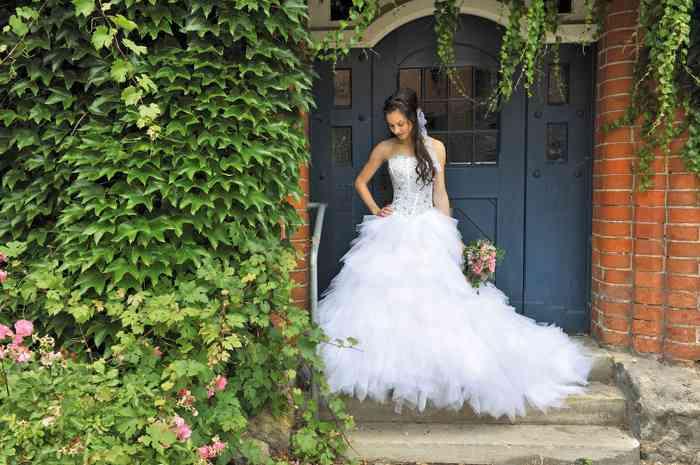 Brautkleid Tüll