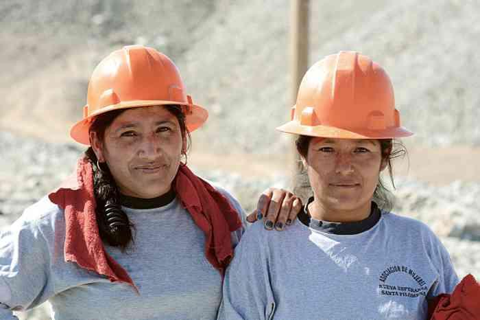 Fairtrade Gold unterstützt die Goldschürfer und ihre Familien.
