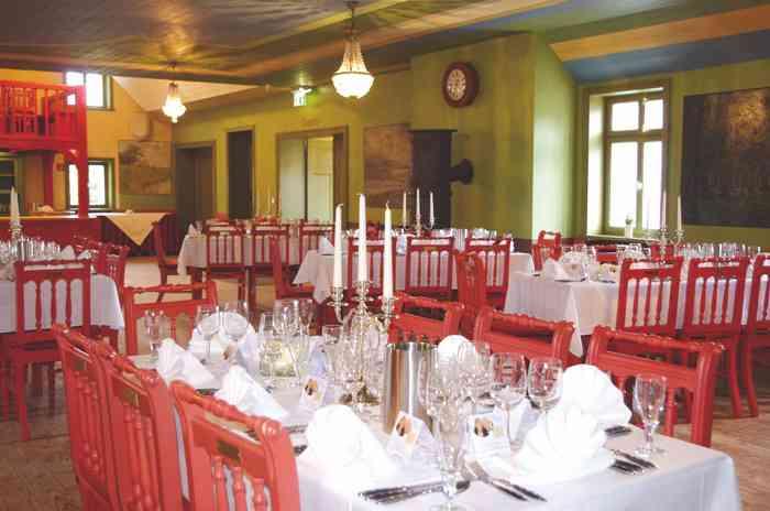 Saal der Hochzeitslocation Freilichtmuseum am Kiekeberg