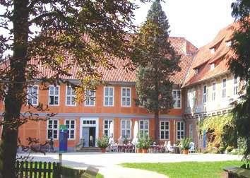 Schlosshof vom Schloss Bleckede