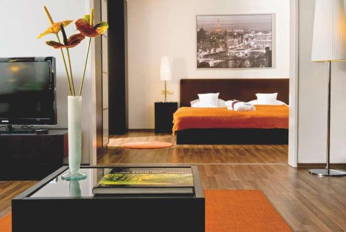 Hotelzimmer der 4 Sterne Kategogie im Wyndham Hannover